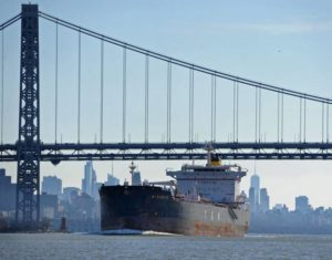 The Record: Oil on the Hudson