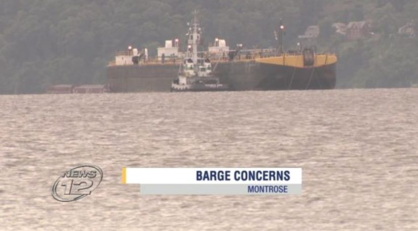 Residents petition against Hudson River barge plan – Hudson