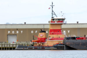 A risky cargo on the Hudson River