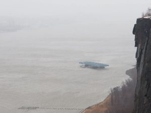 Coast Guard Beaches Six Barges That Went Loose On Hudson