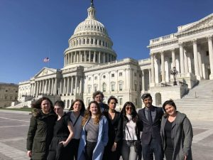 Pace Students Travel To DC, Advocate For Hudson River